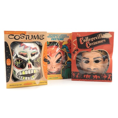 Halloween Masks and Costumes Including Ben Cooper