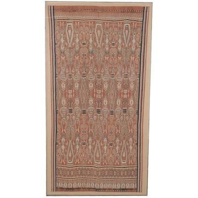 Iban Pua Kumbu Ikat Ceremonial Textile, Sarawak, Borneo, Early/Mid-20th Century