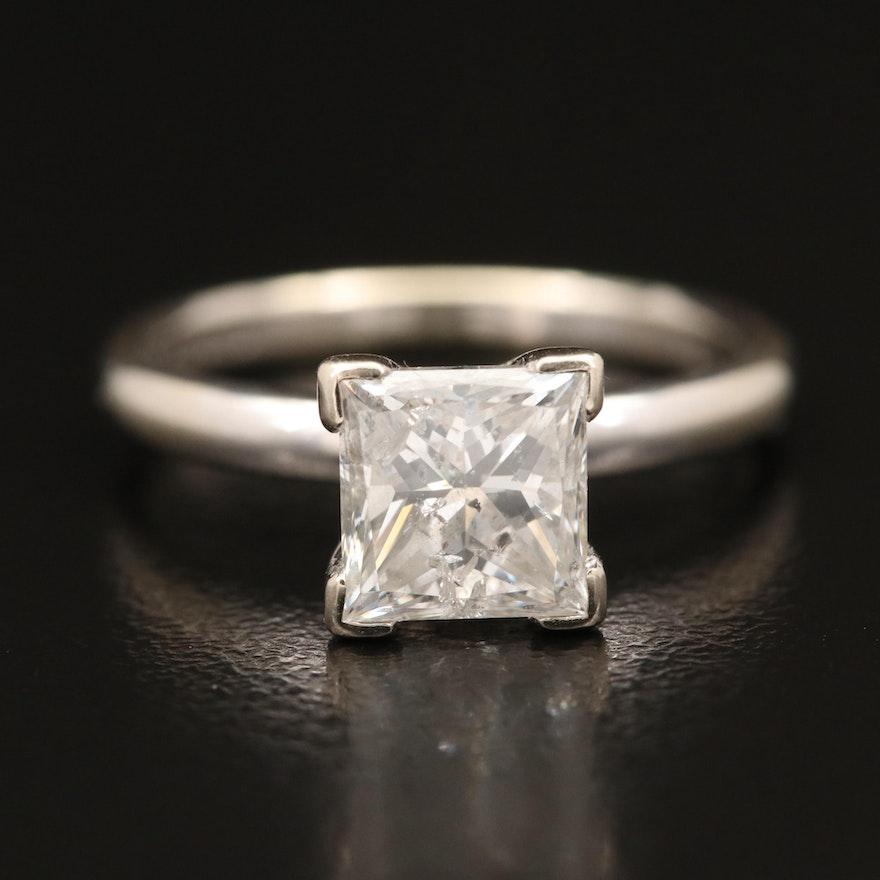 14K 2.16 CT Diamond Solitaire Ring