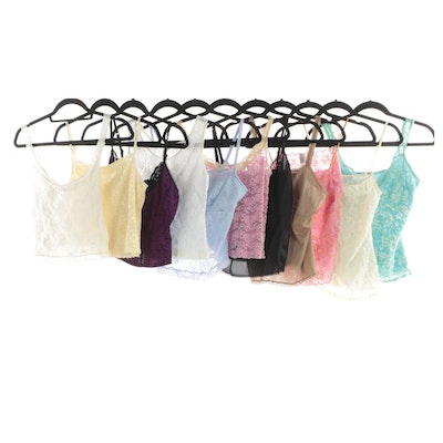Lace Camisoles from Frederick's of Hollywood, Vanity Fair, Bonjour and More