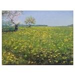 """Garncarek Aleksander Oil Painting """"Meadow,"""" 2021"""