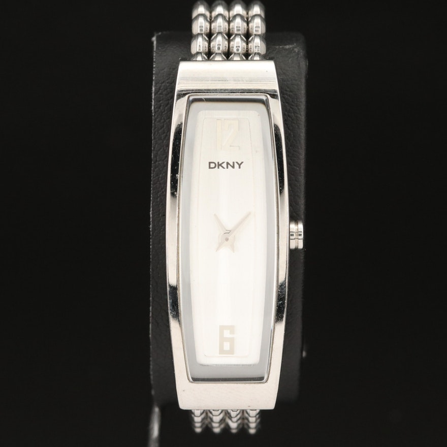 DKNY Stainless Steel Quartz Wristwatch
