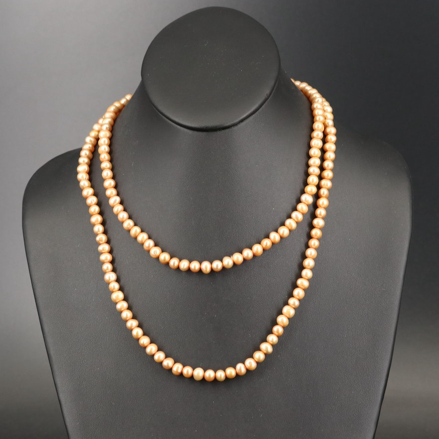 Pearl Opera Length Necklace