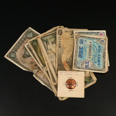 Japanese Currency and Military Occupation of Okinawa Currency, 1930s–1940s