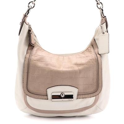 Coach Kristin Spectator Leather Hobo Bag
