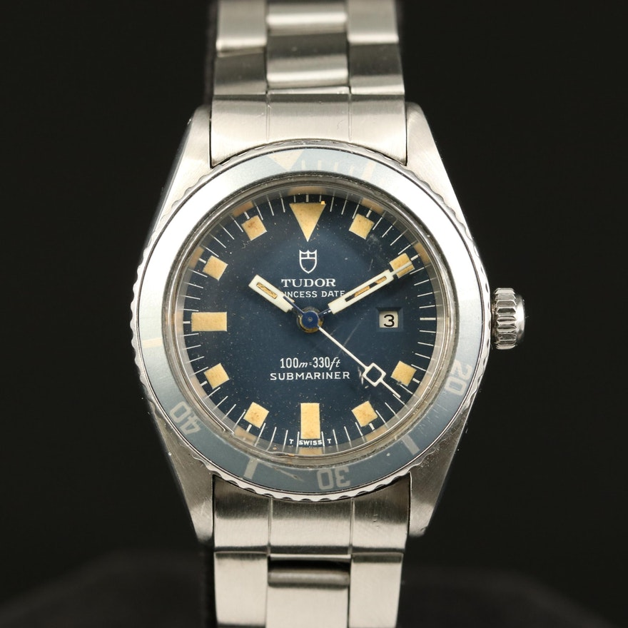 1977 Tudor Princess Date Submariner Automatic Wristwatch