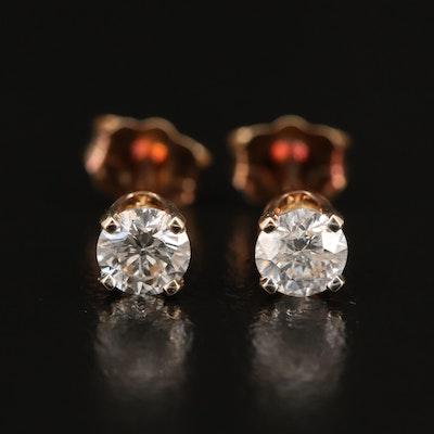 14K 0.44 CTW Diamond Stud Earrings