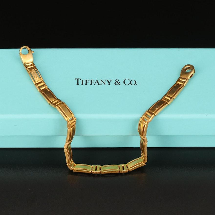 Tiffany & Co. 18K Fancy Link Bracelet