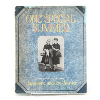 """First Printing """"One Special Summer by"""" Jacqueline and Lee Bouvier, 1974"""