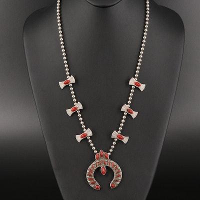Southwestern Style Naja Necklace