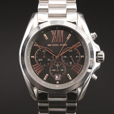 Michael Kors Bradshaw Chronograph Stainless Steel Wristwatch