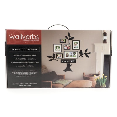 "Wallverbs ""Family Collection"" Modular Tree Motif Picture Frame Wall Décor"