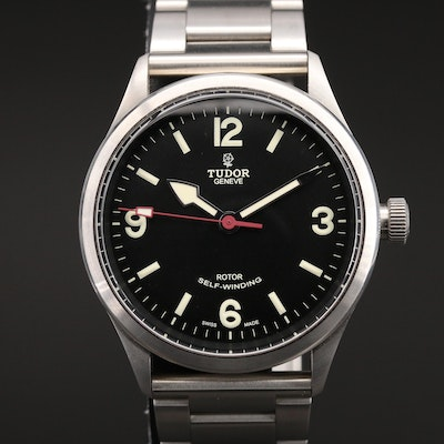 Tudor Heritage Ranger Stainless Steel Automatic Wristwatch