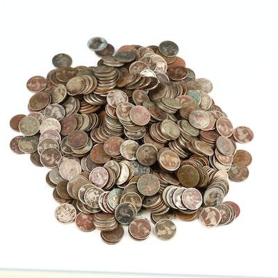 565 Buffalo Nickels