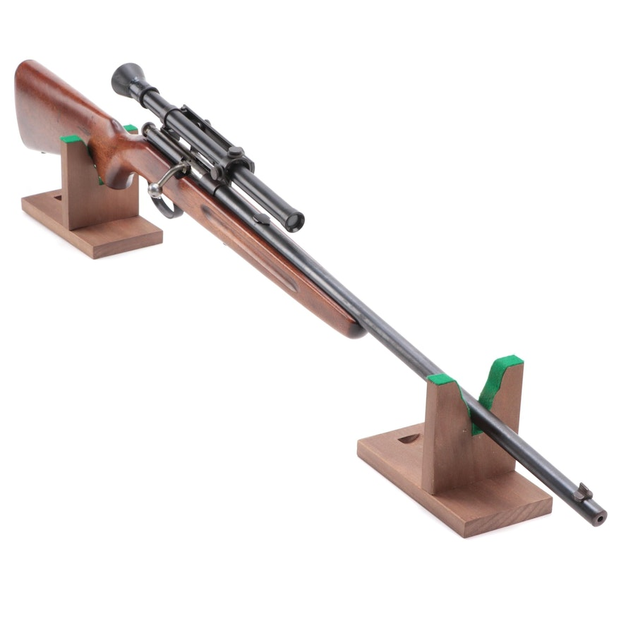 Springfield Model 53-B Rifle with Scope