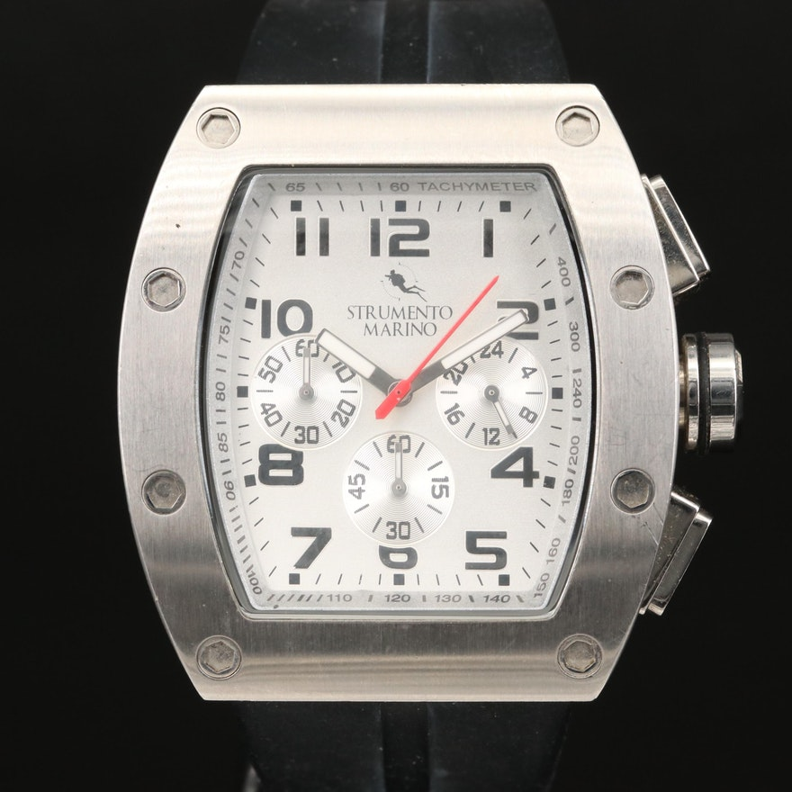 Strumento Marino Chronograph Stainless Steel Wristwatch