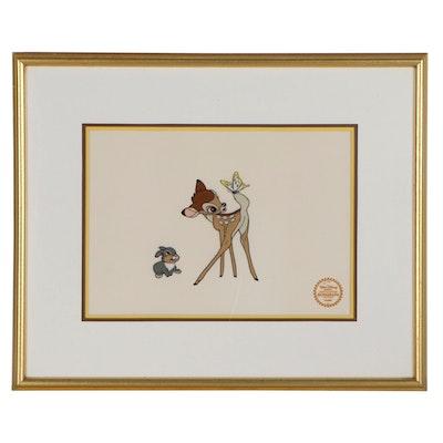 "Disney Sericel ""Bambi,"" 1942"