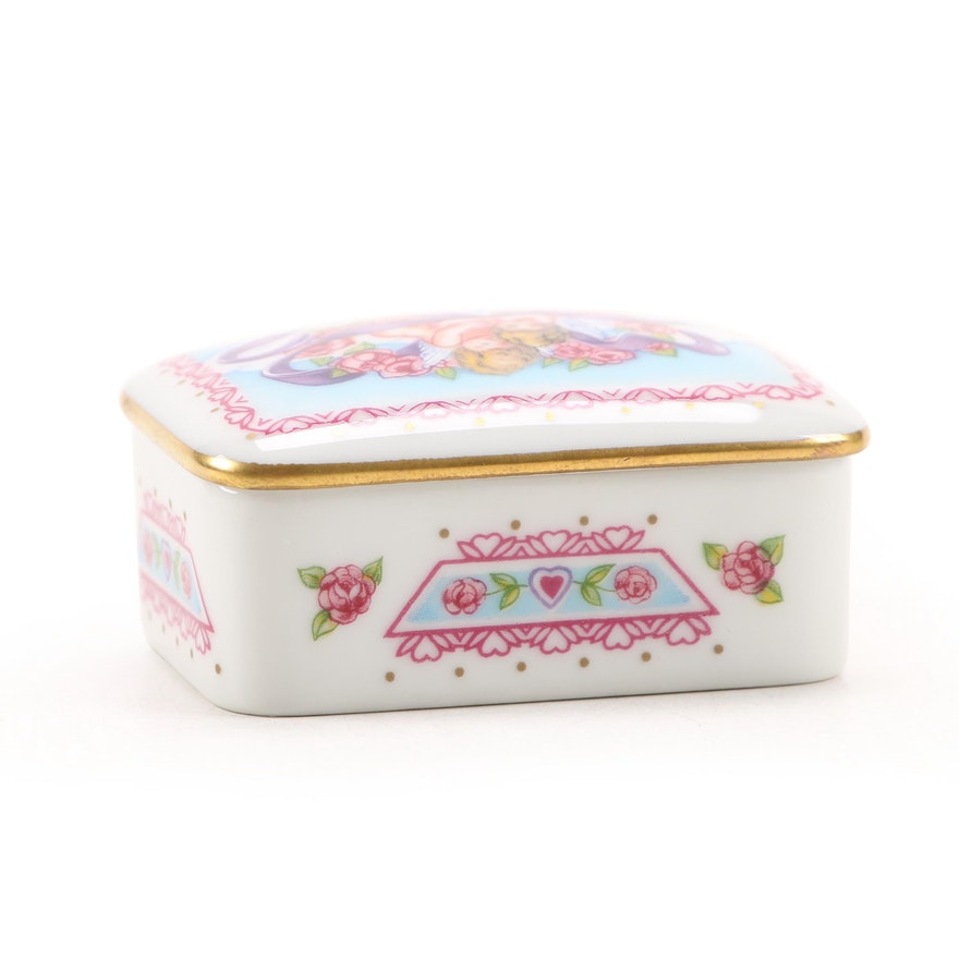 """Cadeaux D'Amour """"Mon Amour"""" Porcelain Limoges Box"""