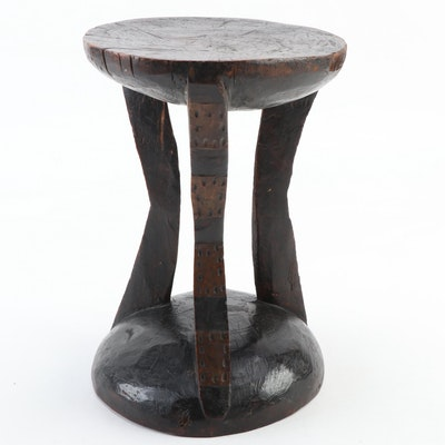 West African Wooden Stool