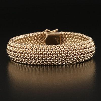 14K Mesh Bracelet