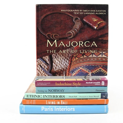 """""""Paris Interiors"""" and More Interior Design and Art Reference Books"""