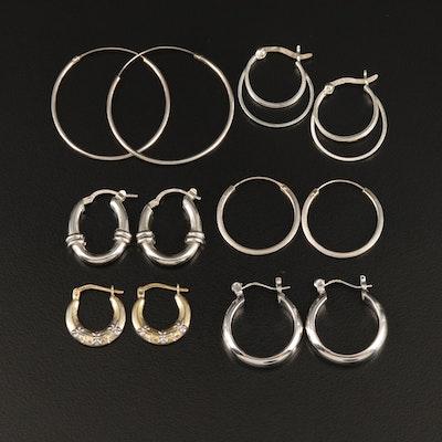 Sterling Hoop Earrings Selection Featuring Beau Sterling