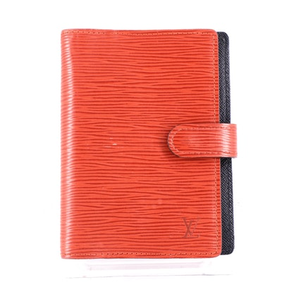Louis Vuitton Agenda Cover in Red Epi Leather