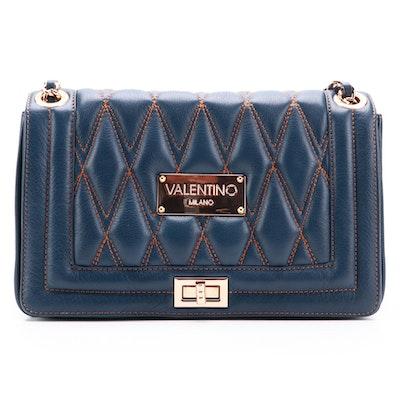 Valentino by Mario Valentino Spa Alice Diamond Quilted Shoulder Bag
