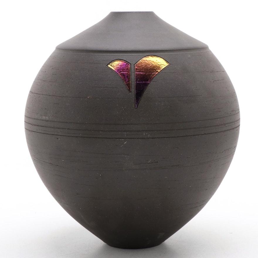 Handmade Art Pottery Ceramic Vase