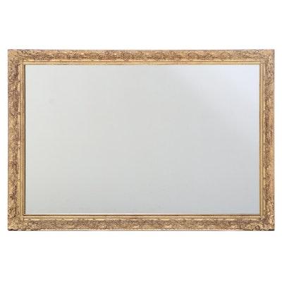 J.A. Olson Company Gilt Painted Rococo Style Mirror