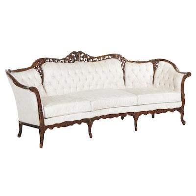 Kimball Louis XV Style Upholstered Sofa