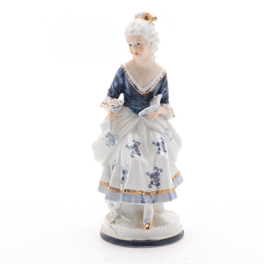 Ardco Porcelain Figurine, Late 20th Century
