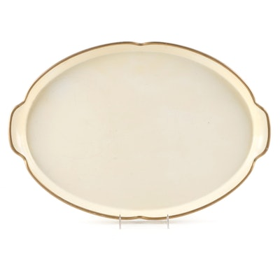 """Lady Clare """"Crown"""" Melamine Tray, Mid-20th Century"""