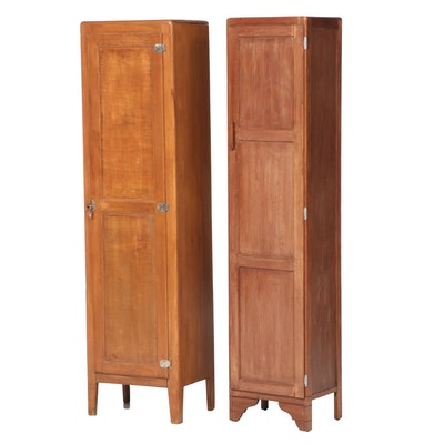Two Blind-Door Cabinets, Early to Mid 20th Century