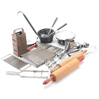 Rival Egg Beater, Regal and Pyrex Electric Servers and Other Kitchen Tools