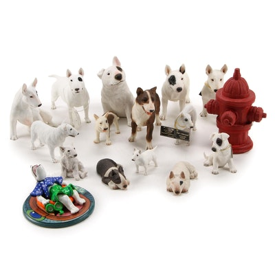 Sandicast, Castagna, North Light and Other Bull Terrier Figurines