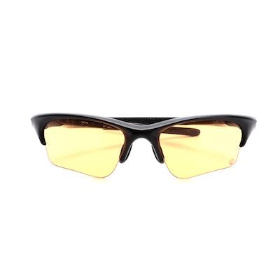 Oakley Half Jacket Sport Sunglasses with Orange Lenses