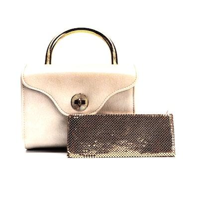 Garay Handbag and Other Metal Mesh Zip Clutch