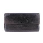 Louis Vuitton Sarah Wallet in Black Nomade Leather