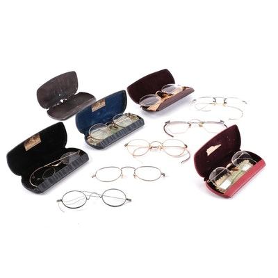 Dr. Jos. E. Kernel Optometrist with Other Eyeglasses and Cases