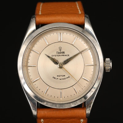 1961 Tudor Oyster Prince Stainless Steel Automatic Wristwatch