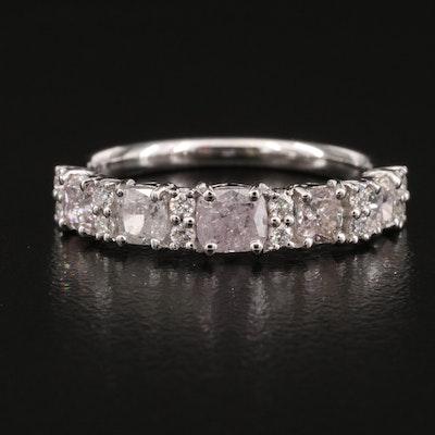 18K 1.35 CTW Diamond Band