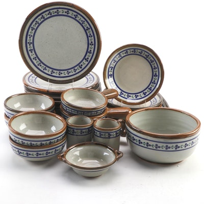Teresa Duran of Xochiquetzal Mexico Handcrafted Stoneware Dinnerware