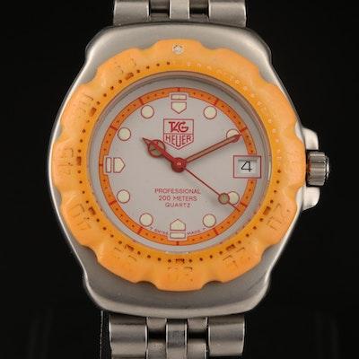 Vintage TAG Heuer Formula 1 Stainless Steel Quartz Wristwatch