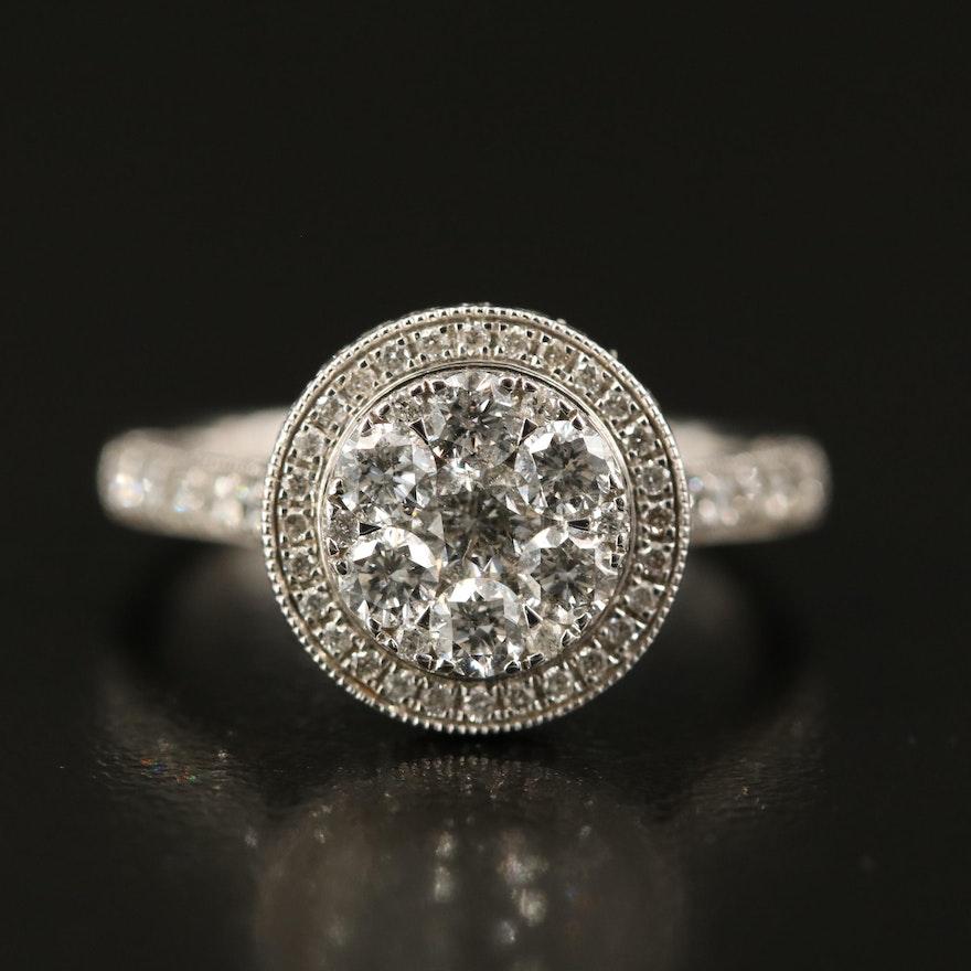 14K 1.60 CTW Diamond Ring