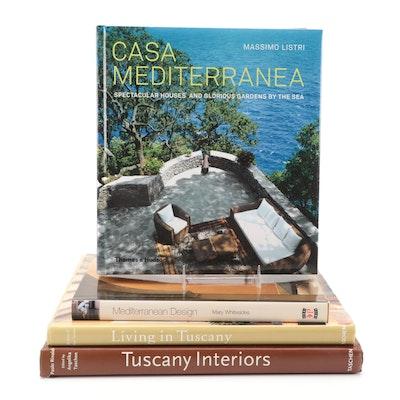 """Tuscany Interiors"" by Paolo Rinaldi and More Interior Design Books"
