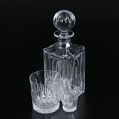 """Marquis by Waterford """"Barcelona"""" Crystal Decanter and More, Late 20th Century"""