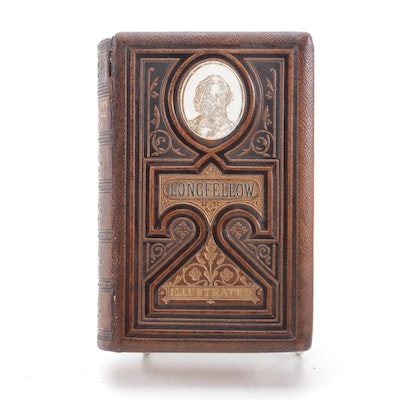 """""""The Poetical Works of Henry Wadsworth Longfellow,"""" 1874"""