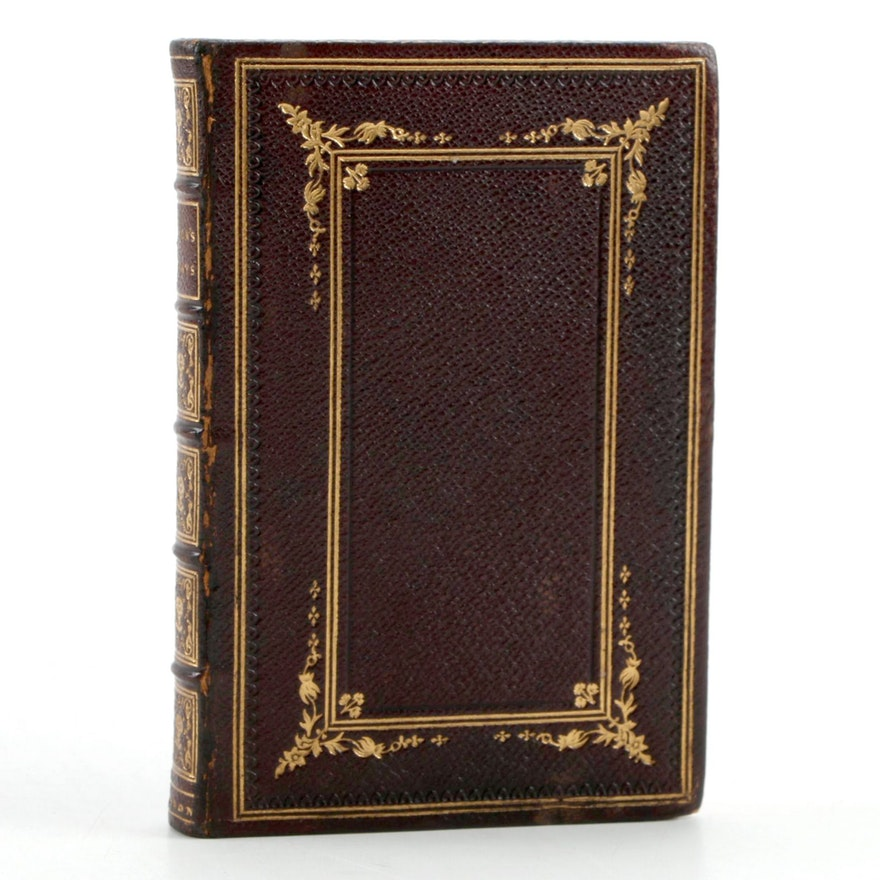 """""""Essays, Moral, Economical, and Political"""" by Francis Bacon, 1828"""
