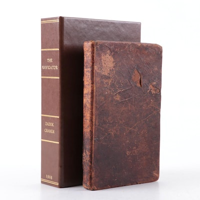 """Illustrated """"The Navigator"""" by Zadok Kramer with Custom Clamshell Box, 1808"""